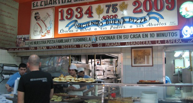 Buenos Aires Pizza Tour — El Cuartito: The Real Deal